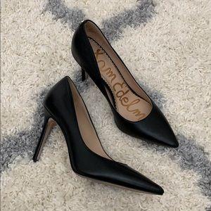 Sam Edelman Hazel black leather pump sz 5.5